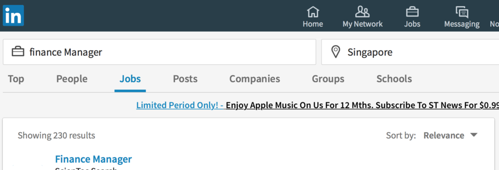 230 Results for Finance Manager in Linkedin.